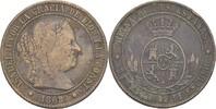 2 1/2 Centimos 1868 OM Spanien Isabel II., 1833-68 fast ss/ss  13,00 EUR  zzgl. 3,00 EUR Versand