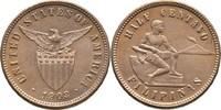1/2 Centavo 1903 Philippinen  Stempelglanz  30,00 EUR  zzgl. 3,00 EUR Versand
