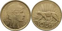 10 Centesimos 1930 Uruguay Puma Bankfrisch  50,00 EUR  zzgl. 3,00 EUR Versand