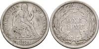 1 Dime 1883 USA  ss-  19,00 EUR  zzgl. 3,00 EUR Versand