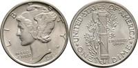 Dime 1943 D USA  fast Stempelglanz  15,00 EUR  zzgl. 3,00 EUR Versand
