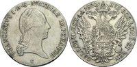 Taler 1820 Austria Böhmen Prag Franz II./I., 1792 - 1835 Randschlag, se... 85,00 EUR