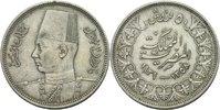 Ägypten 5 Piaster Farouk, 1936 - 1952