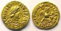 500-580 n. Chr. Merovingische Münzen Tremissis pseudo-impérial au nom ... 1350,00 EUR kostenloser Versand