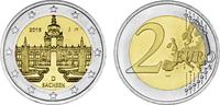 2 2016 J  2 Euro Deutschland 2016 - Dresdner Zwinger - Sachsen Münzzeic... 2,90 EUR