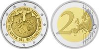 2 2015  Vatikan - 2 Euro 2015 PP Weltfamilientreffen in Philadelphia 25... 179,00 EUR