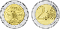 2 2016  Irland - 2 Euro 100 Jahre Osteraufstand in Irland 2016 bfr 25,7... 3,50 EUR