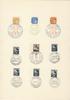 Böhmen und Mähren - A 4 Blatt mit 9 Sonderstempeln aus dem Jahr 1942... 5,00 EUR