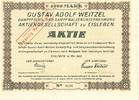 GUSTAV ADOLF WEITZEL DAMPFPFLUG A.G. - Gustav Adolf Weitzel Dampfpfl... 9,00 EUR  zzgl. 3,90 EUR Versand