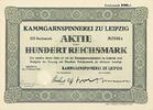Aktie   KAMMGARNSPINNEREI ZU LEIPZIG - Kammgarnspinnerei zu Leipzig, In... 12,00 EUR  zzgl. 3,90 EUR Versand