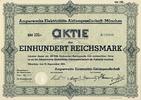 AMPERWERKE MÜNCHEN - Amperwerke Elektricitäts-Aktiengesellschaft - M... 12,00 EUR  zzgl. 3,90 EUR Versand