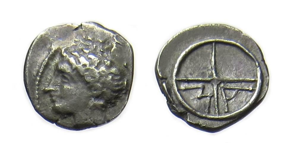 Kelten Kelten Marseille / Massalia obole M / A 121-82 v. Chr. Obol