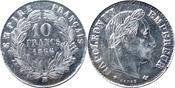 10 Franc 1866 Frankreich 10 Franc 1866 -- ...