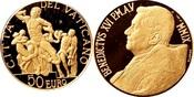 50 Euro 2009 Vatikan im Originaletui und Z...