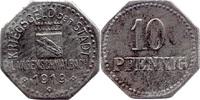 10 Pf 1919, Langenschwalbach (Hessen-Nassau) - Stadt,  korrodiert, ss  4,00 EUR  zzgl. 3,50 EUR Versand