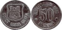 50 Pf 1918, Leer i. Ostfr. (Hannover) - Stadt,  etwas korrodiert, ss  5,00 EUR  zzgl. 3,50 EUR Versand