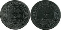 ½ Mark o. J. Landsberg/W. (Brandenburg) - Stadt,  etwas korrod., vz  8,00 EUR  zzgl. 3,50 EUR Versand
