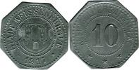 10 Pf 1917 Weißenburg (Elsaß) - Stadt,  Rv Stf., Av etwas korrod., ss  5,00 EUR  zzgl. 3,50 EUR Versand