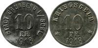 10 Pf 1918 Grünberg (Schlesien) - Stadt,  etwas korrod., ss-vz  3,50 EUR  zzgl. 3,50 EUR Versand