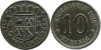 10 Pf 1918, Treuchtlingen (Bayern) -  Stadt,  etwas Rost, ss-vz  7,00 EUR  zzgl. 3,50 EUR Versand