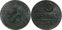 10 Pf 1917, Überlingen (Baden) - Stadtgemeinde,  etwas korrod., ss  2,50 EUR  zzgl. 3,50 EUR Versand