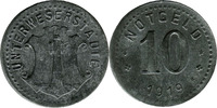 10 Pf 1919, Unterweserstädte,  Stf., ss  2,50 EUR  zzgl. 3,50 EUR Versand