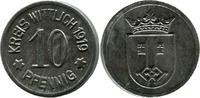 10 Pf 1919 Wittlich (Rheinprovinz) - Kreis,  minim. korrod., ss-vz  2,00 EUR  zzgl. 3,50 EUR Versand