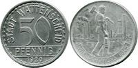 50 Pf 1920, Wattenscheid (Westfalen) - Stadt,  ss-vz/Kratzer, ss  3,50 EUR  zzgl. 3,50 EUR Versand