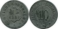 10 Pf o. J., Nordhalben (Bayern) - Gemeinde,  minim. korrod., vz  28,00 EUR  zzgl. 3,50 EUR Versand
