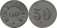 50 Pf 1917, Dillingen (Bayern) - Stadt,  ss-vz  8,00 EUR  zzgl. 3,50 EUR Versand