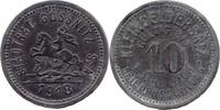 10 Pf 1918, Gössnitz (Sachsen-Altenburg) - Stadt,  Rv Kratzer (alt), ss... 4,00 EUR  zzgl. 3,50 EUR Versand