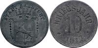10 Pf 1917, Haßfurt (Bayern) - Stadt,  Av Stempelfehler, ss  5,00 EUR  zzgl. 3,50 EUR Versand