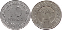 10 Pf 1918, Göppingen (Württemberg) - Oberamt,  vz+  4,00 EUR  zzgl. 3,50 EUR Versand