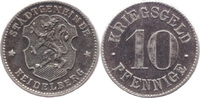 10 Pf o. J., Heidelberg (Baden) - Stadtgemeinde,  stfr-  5,00 EUR  zzgl. 3,50 EUR Versand