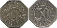 50 Pf 1917, Herrenberg (Württemberg) - Stadt,  ss  7,00 EUR  zzgl. 3,50 EUR Versand