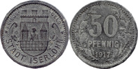 50 Pf 1917, Iserlohn (Westfalen) - Stadt,  ss  5,00 EUR  zzgl. 3,50 EUR Versand