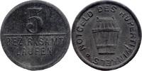 5 Pf o. J., Laufen (Bayern) - Bezirksamt,  ss, Rv Stempelbruch  7,00 EUR  zzgl. 3,50 EUR Versand
