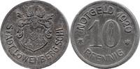 10 Pf 1920, Löwenberg (Schlesien) - Stadt,  Rostspuren, ss  7,50 EUR  zzgl. 3,50 EUR Versand