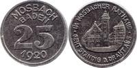 10 Pf 1918, Mosbach (Baden) - Stadt,  ss  5,00 EUR  zzgl. 3,50 EUR Versand