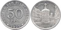 50 Pf 1921, Neisse (Schlesien) - Stadt, Schöner Brunnen, Rv kl. Rdf. (S... 9,00 EUR  zzgl. 3,50 EUR Versand