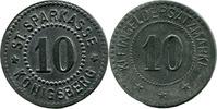 10 Pf o. J. Königsberg i. Fr. (Sachsen-Coburg) - Städt. Sparka  ss  5,00 EUR  zzgl. 3,50 EUR Versand