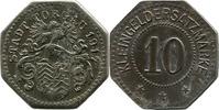 10 Pf 1917, Torgau (Provinz Sachsen) - Stadt,  korrodiert, ss  7,00 EUR  zzgl. 3,50 EUR Versand
