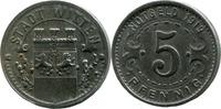 5 Pf 1919, Witten (Westfalen) - Stadt,  ss-vz  2,50 EUR  zzgl. 3,50 EUR Versand