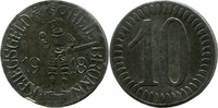 10 Pf 1918, Heilbronn (Württemberg) - Stadt,  Rdf., ss  2,00 EUR  zzgl. 3,50 EUR Versand