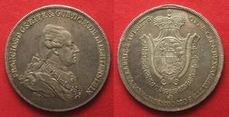 1778 Liechtenstein LIECHTENSTEIN Taler 17...