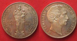 Bayern  1855 PP BAYERN Doppelgulden 1855 M...