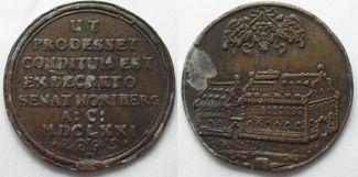 1671 Deutschland - Medaillen NÜRNBERG Ble...