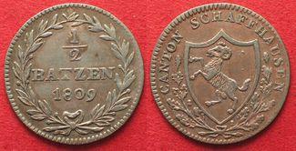 1809 Schweiz - Schaffhausen SCHAFFHAUSEN ...