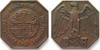 Deutschland - Medaillen  VDA VOLKSBUND FÜR DAS DEUTSCHTUM IM AUSLAND Oktogonale Medaille ca.1935 # 89325