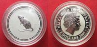 2007 Australien 2 Unzen pures Silber JAHR...